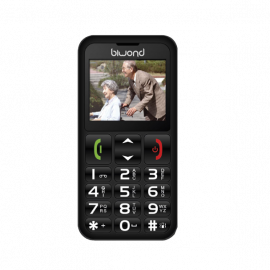 Biwond S9 Dual SIM SeniorPhone Negro