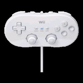 Mando Clasico Blanco Wii / Wii U