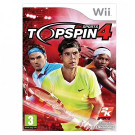 Top Spin 4 Wii (SP)