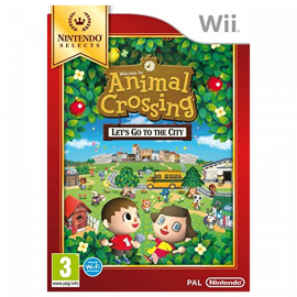 Animal Crossing Let's Go to the City Nintendo Selects Wii (SP)