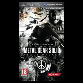 Metal Gear Solid Peace Walker PSP (SP)