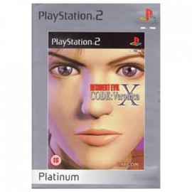 Resident Evil Code Veronica X Platinum PS2 (SP)