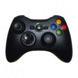 Mando Microsoft Wireless Negro Xbox360 Slim