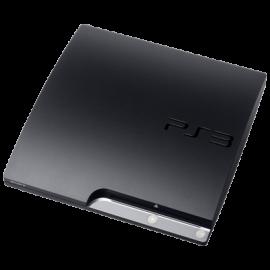 PS3 Slim Negra 320GB (Sin Mando)