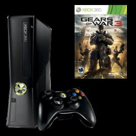 Pack: Xbox360 Slim 250Gb + Mando Wireless + Juego Gears of War 3