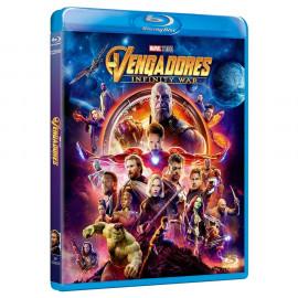 Los Vengadores Infinity War BluRay (SP)