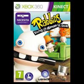 Rabbids vivitos y ocupando el salon Xbox360 (SP)