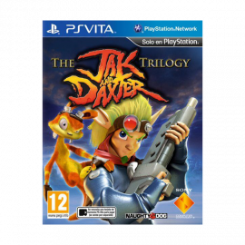 The Jak and Daxter trilogy PSV (SP)