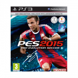 PES 2015 Day One Edition PS3 (SP)