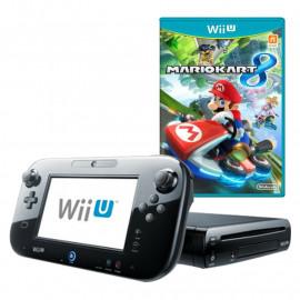 Pack: Wii U Negra 32GB + Mando Pantalla Wii U + Mario Kart