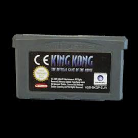 King Kong the oficial game GBA