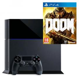 Pack: PS4 1 TB + Dual Shock 4 + Doom