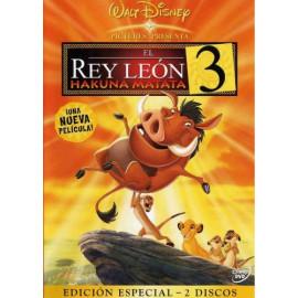 El Rey Leon 3 Hakuna Matata DVD
