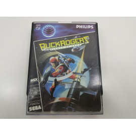 Buck Rogers Planet of Zoom Philips-Sega Caja Deluxe MSX A
