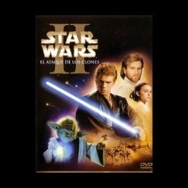 Star Wars II: El Ataque de los Clones DVD