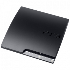 PS3 Slim Negra 250GB (Sin Mando)