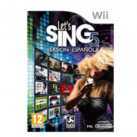 Let's Sing 5 Version Española Wii (SP)