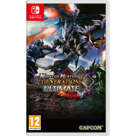 Monster Hunter Generations Ultimate Switch (SP)