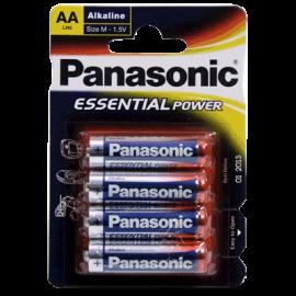 Pack 4 Pilas Alcalinas Panasonic AA