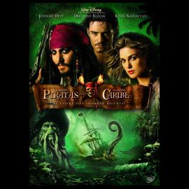 Piratas del Caribe: El cofre del Hombre Muerto DVD