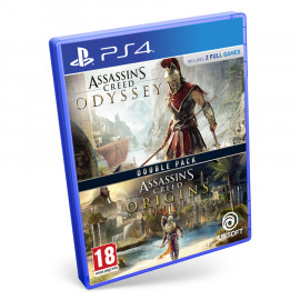 Assassin's Creed Odyssey + Assassin's Creed Origins PS4 (SP)