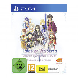 Tales of Vesperia: Definitive Premium Edition PS4 (SP)