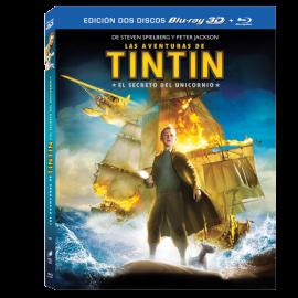 Las Aventuras de Tintin el Secreto del Unicornio BluRay (SP)
