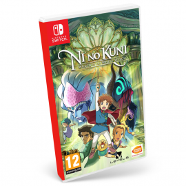Ni No Kuni: La ira de la Bruja Blanca Remastered Switch (SP)