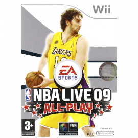 NBA Live 09 All-play Wii (SP)