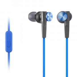 Auriculares con Microfono Sony Extra Bass MDRXB50 Azul