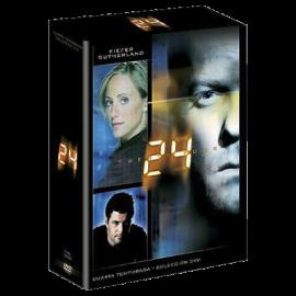 24 Temporada 4 (24 Cap) DVD