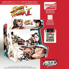 Mini Arcade Street Fighter para Switch