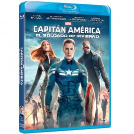 Capitan America El Soldado de Invierno BluRay (SP)