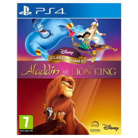 Disney Classic Games:Aladdin and The Lion King PS4 (SP)