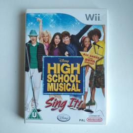 High School Musical Canta Con Ellos Wii (SP)