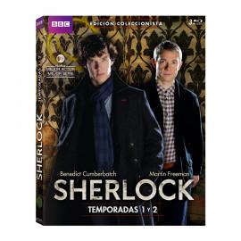 Sherlock Ed. Coleccionista Temporada 1-2 BluRay (SP)