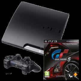 Pack: PS3 Slim 320 GB + Dual Shock 3 + Gran Turismo 5
