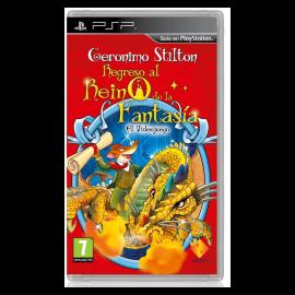 Geronimo Stilton 2 Regreso al Mundo de la Fantasia PSP (SP)