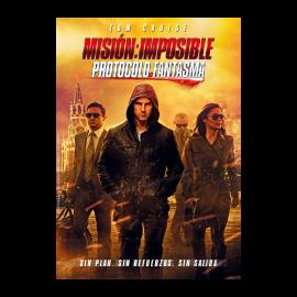 Mision Imposible Protocolo Fantasma DVD