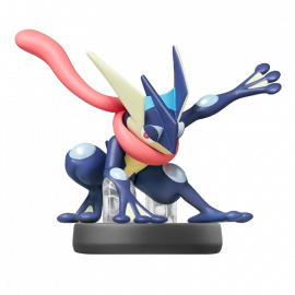 Figura Amiibo Greninja Coleccion Super Smash Bros