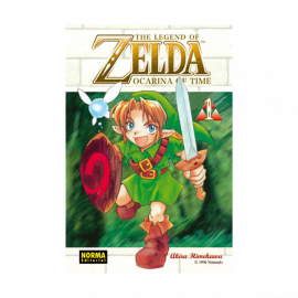 Manga The Legend of Zelda Ocarina of Time 01