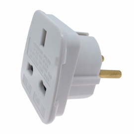 Adaptador de Corriente UK - Europa