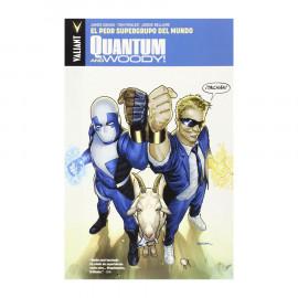 Comic Quanntum and Woody! Valiant 01