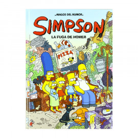Comic Simpson Magos del Humor La Fuga de Homer 21