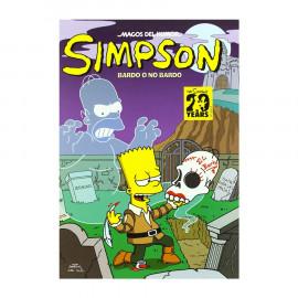 Comic Magos del Humor Simpson: Bardo o no Bardo Ediciones B 25