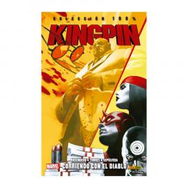 Comic Kingpin Corriendo con el Diablo Panini