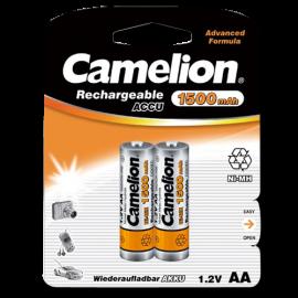 Pack 2 Pilas Recargables Camelion 1500mah AA