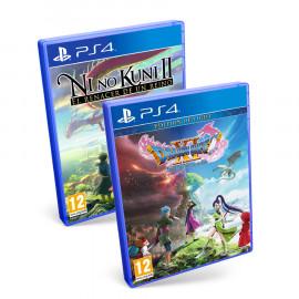 Pack RPG: Ni No Kuni 2 + Dragon Quest XI PS4 (SP)