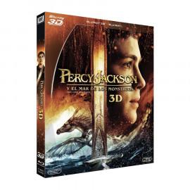 Percy Jackson y el Mar de los Monstuos 3D BluRay (SP)