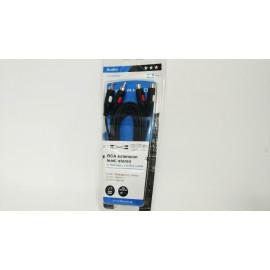 Cable RCA (2 machos-2hembras) 2,5 M B